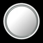 Kreisbutton - Spiegelrückseite